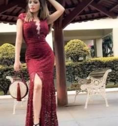 Vestido Madrinha Casamento Civil Formaturas Promoção #lv9