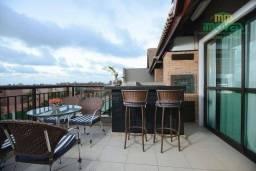 Cobertura com 3 dormitórios à venda, 130 m² por R$ 950.000,00 - Porto das Dunas - Aquiraz/