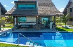 AS - Casa 4 Qts 231m² em Resort a Beira mar de Muro Alto