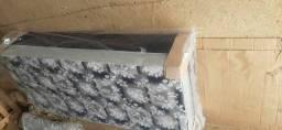 Cama box solteiro 12cm de espuma selada