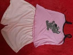 Pijamas e Camisolas Adultos e Infantis