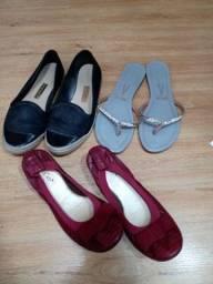 Sapatos n 38 troco bairro Santa felicidade