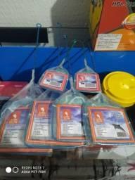 Rede p/ captura de peixe