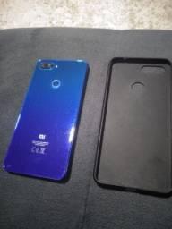 Xiaomi mi 8 128 gigas 6 de ram 6 meses de uso