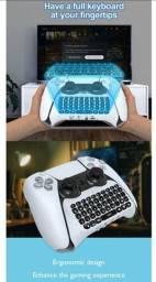 Teclado Keyboard Para Controle Ps5 Dualsense Wireless S/ Fio pronta entrega no Brasil