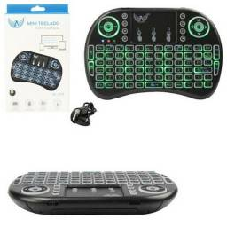 Mini teclado led wireless altomex