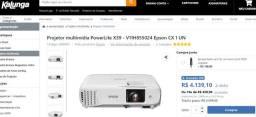 Projetor Epson PowerLite X24+ 3500 Lumens