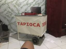 Carrinho de tapioca (ou para lanches)