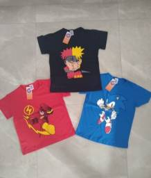 Camisetas de personagens