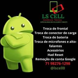LS CELL assistência técnica especializada em smartphones e tablets