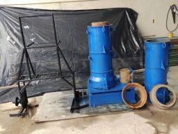 Vendo Conjunto Vibratório  para fabricação de tubo de concreto  0,30 x 100
