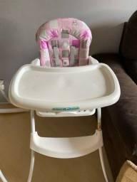 Cadeira de alimentação Burigotto em excelente estado