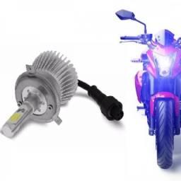 Kit Xenon Led Moto H4 Cree 2200 Lm Alto E Baixo Farol Em Led - Promoção