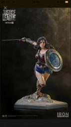 Wonder Woman liga da justiça Iron Studios