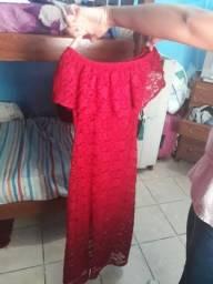 Vestido vermelho tm p