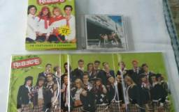 Box Dvd Rebelde 2°Temporada+Cd Live in Hollywood