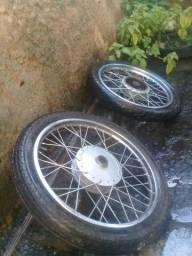 Roda para moto