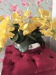 Vaso de flor orkydia toque real