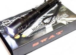 Lanterna Tática Swat 290000 Lumens com Led T6 o mais potente da Categoria