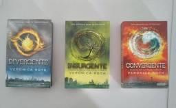 Livros da Trilogia Divergente + DVD