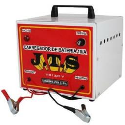Carregador de bateria 10A. JTS