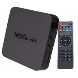 Conversor Smart Tv Mxq 4k Android 6.0 Tv Box Netflix Youtube