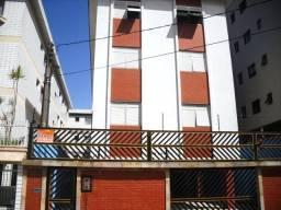 Apartamento em Praia Grande, na Guilhermina, tendo 01 dormitório, sala, cozinha, área de s