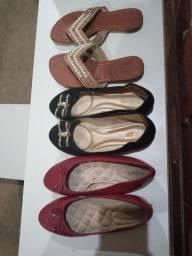 Lote de sapatos baratíssimos