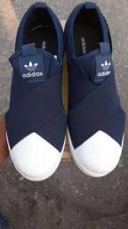Tênis adidas  Superstar Slip On Azul novo