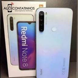 Xiaomi Redmi Note 8 64gb + 4gb RAM - 6x de R$240