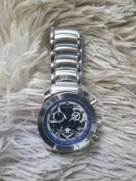 Relógio Bvlgari Prata Funcional (( Novo ))