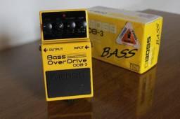 Pedal p/ Baixo Boss Odb3 Bass Drive Odb 3