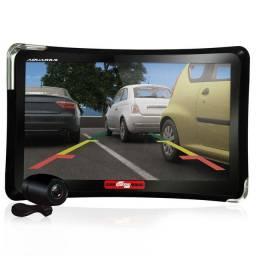 """Casa e Video<br>GPS 7"""" com TV Digital, Câmera de Ré Aquarius 4 Rodas MTC4760"""