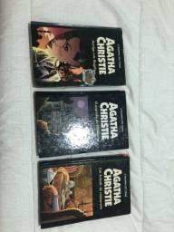 Coleção de livros Agatha Christie capa dura