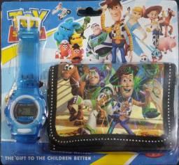 Relógio infantil masculino/feminino