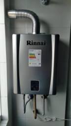 Venda e Instalação de Aquecedor de água a gás - Diversos modelos e marcas