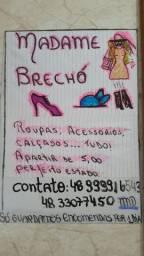 Madame Brechó - Localizado na Costeira do Pirajubaé