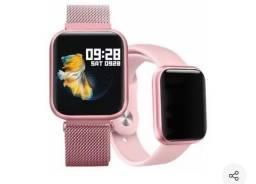 Smartwatch P80+pulseira Extra.