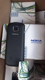 Celular da Nokia de botão zero na caixa