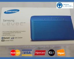 Samsung Level Mini Box 4W RMS, Stéreo, Bluetooth, NFC, USB, Novo, Cx, Gar, NF, Troco!