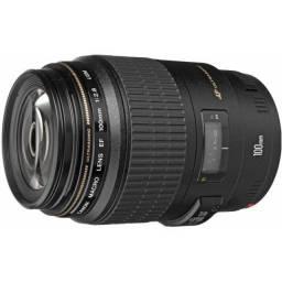 Lente Objetiva Canon 100mm f/2.8 Macro