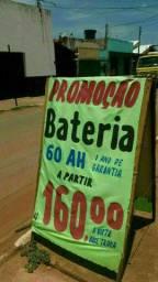 SUPER PROMOÇÃO DE BATERIAS É NA JL!!!