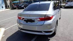 Honda City LX 18/19 baixa km - Prata