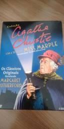 Coleção dvd Agatha Christie com a detetive MISS MARPLE