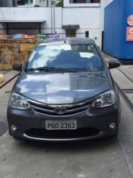 Etios Sedan 2015 - Único dono-Super Novo-Extra