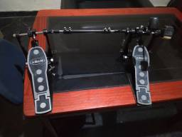 Pedal Duplo de Bateria Adah