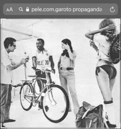 Vendo Bicicleta Pelé , reformada . Não aceito troca
