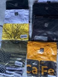 Camisas Novas Diversas