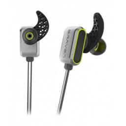 Braven Flye Sport Bluetooth Earbuds - Cinza / Vermelho