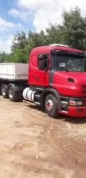 Conjunto Scania 124 360 trucado ano 2000 +  carreta randon ano 2003